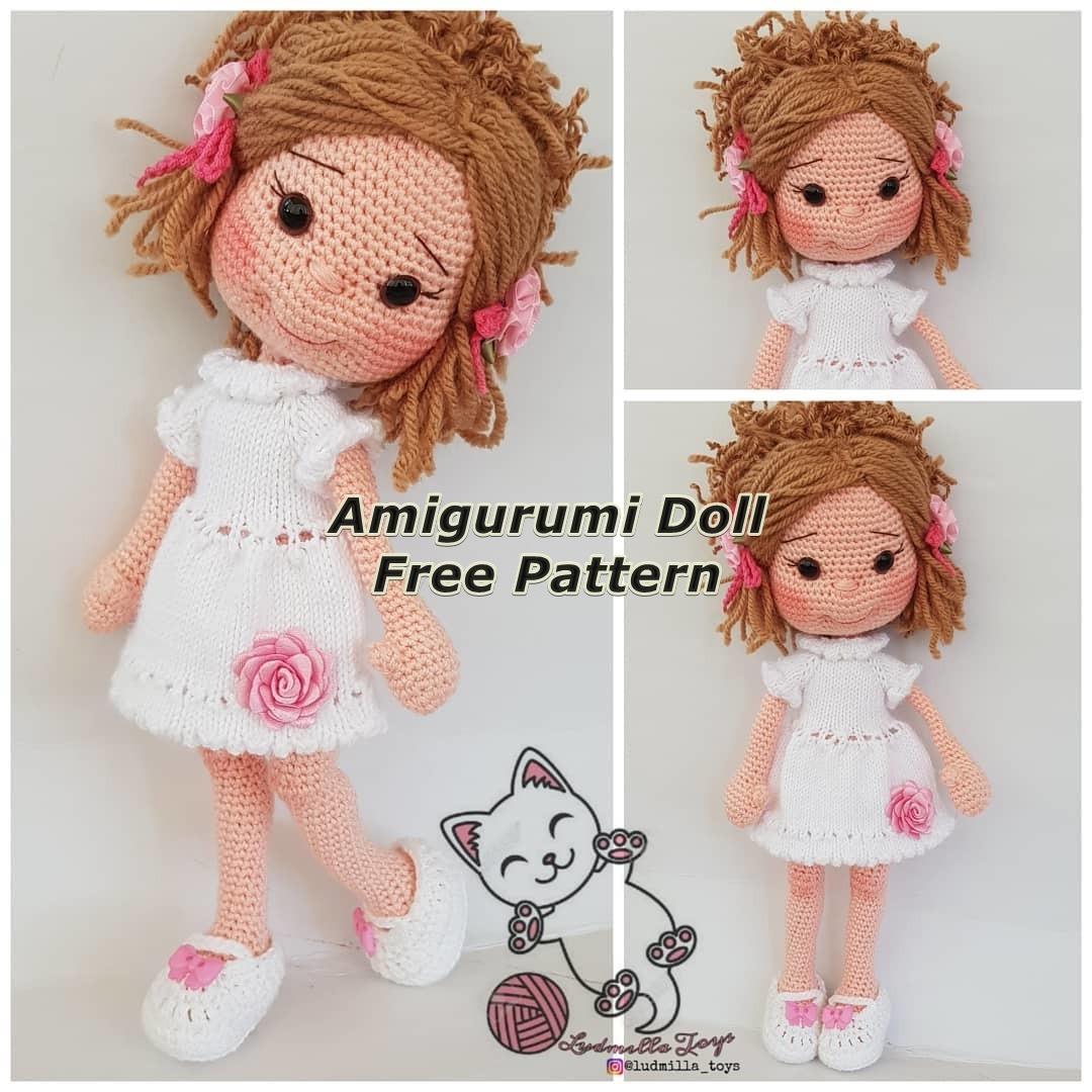 Amigurumi Doll Naz Free Crochet Pattern