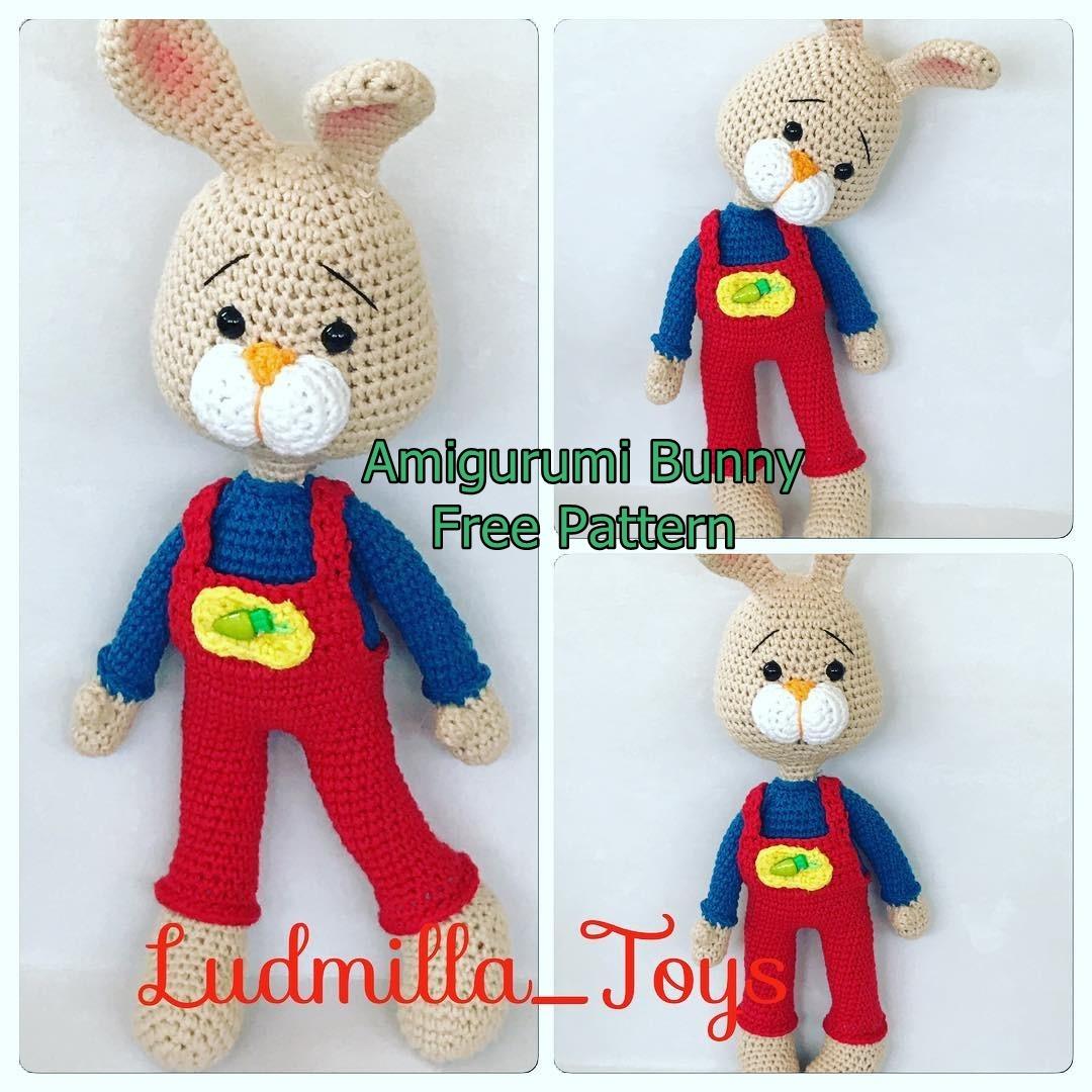 Amigurumi Bunny Hary Free Crochet Pattern