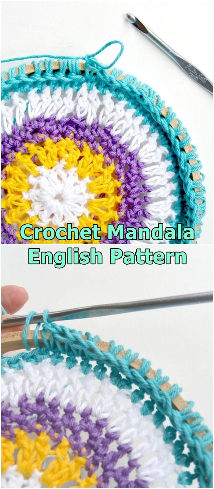 Crochet Mandala Hoops / Wall Hangings