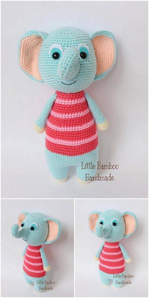 Best Amigurumi Crochet Elephant Patterns - Amigurumi