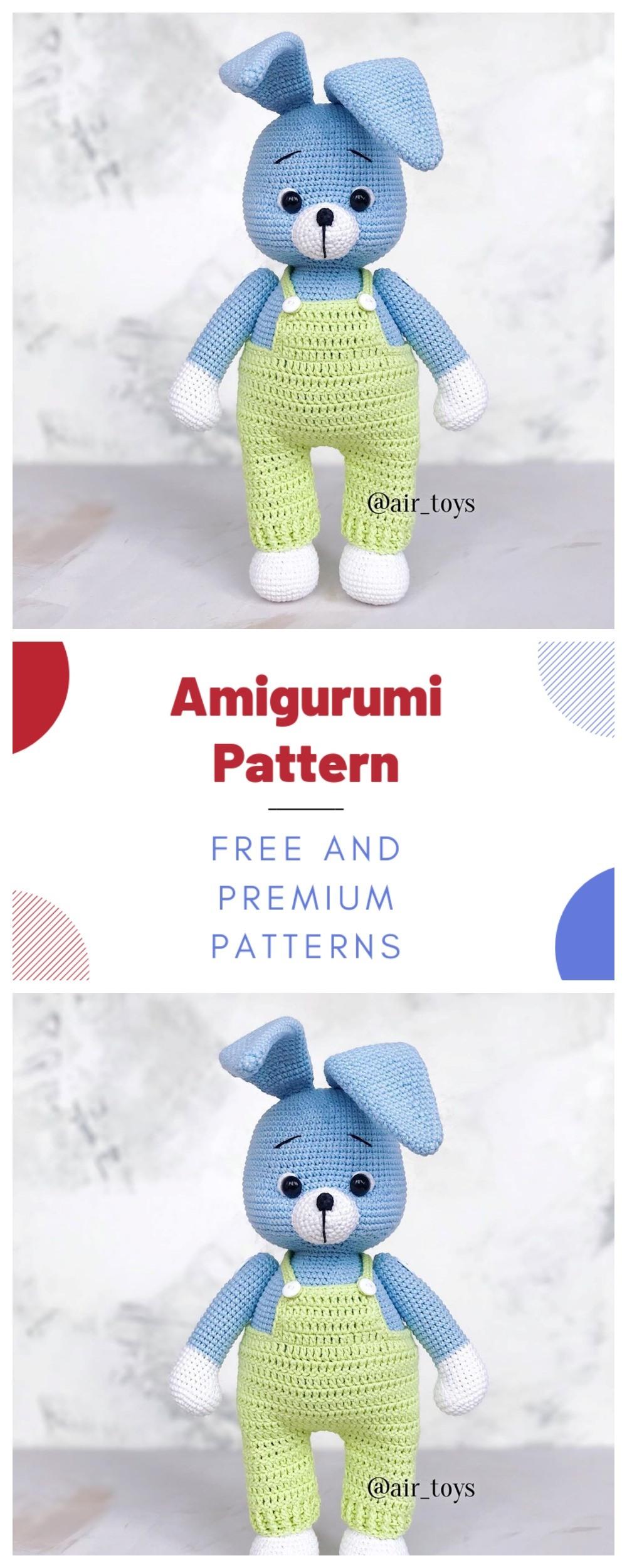 Amigurumi Crochet Bunny Patterns
