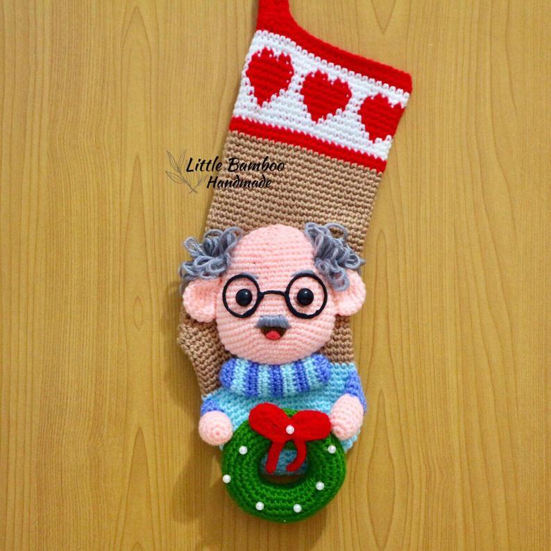 Amigurumi Cristmas Stocking Crochet Patterns