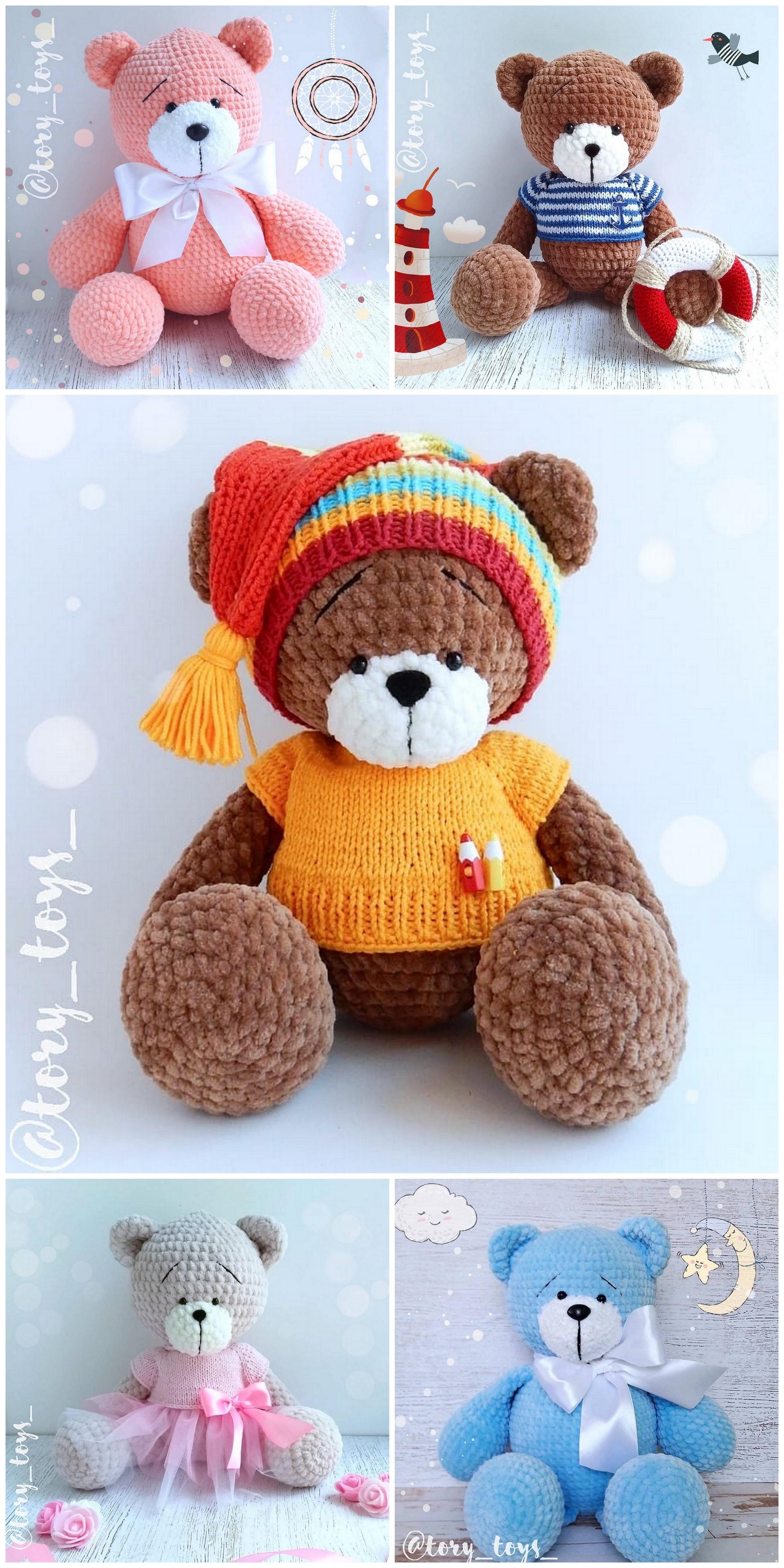 2019 Best Amigurumi Crochet Bear Patterns