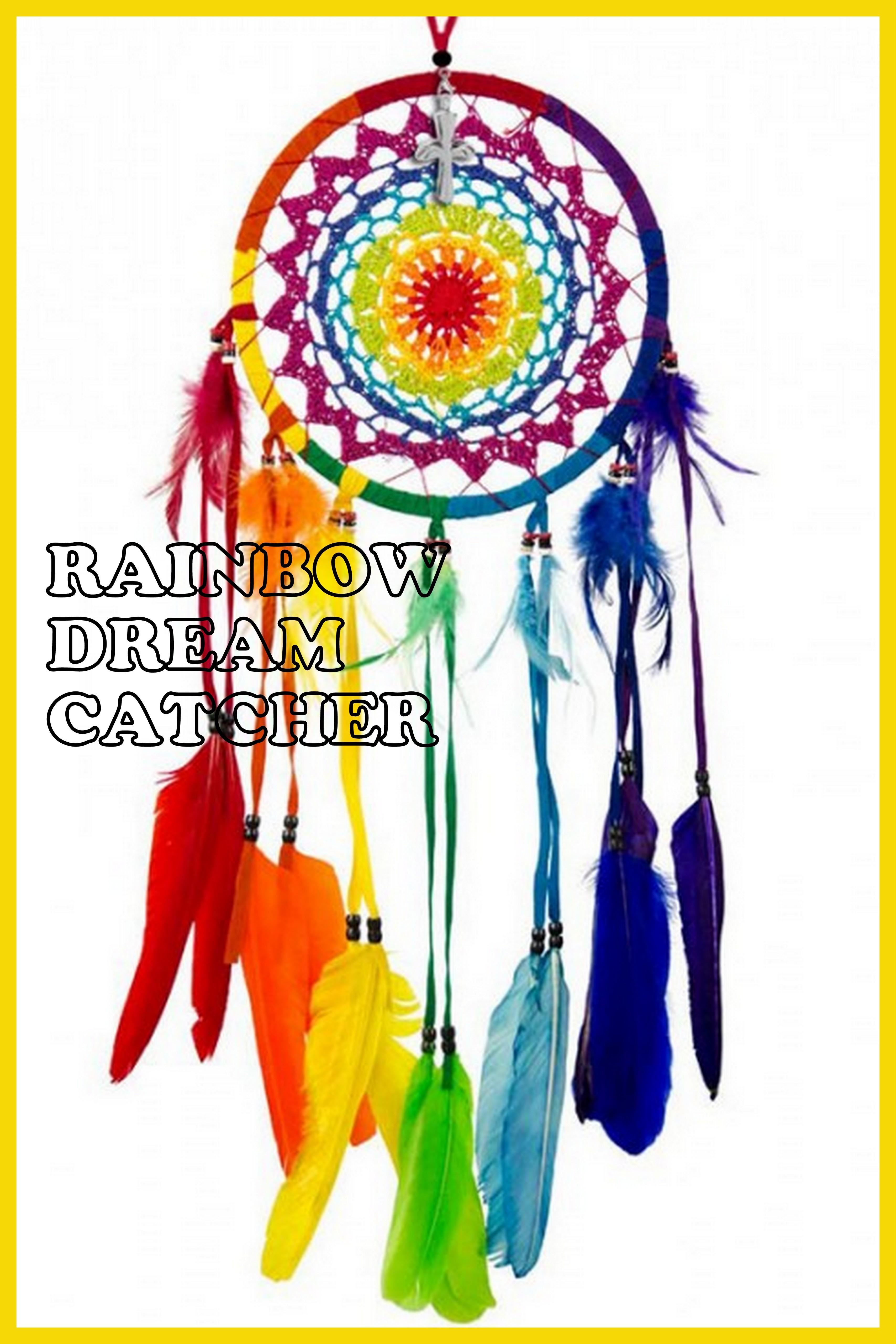 Rainbow Dream Catcher Patterns And Tutorials