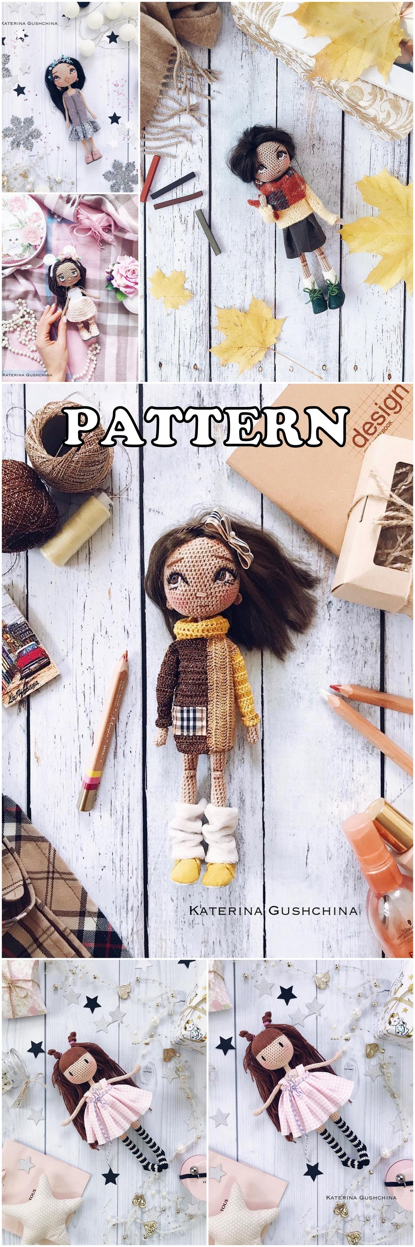 10 Top Best Amigurumi Doll Free Crochet Patterns in 2020 | Crochet ... | 5120x1707