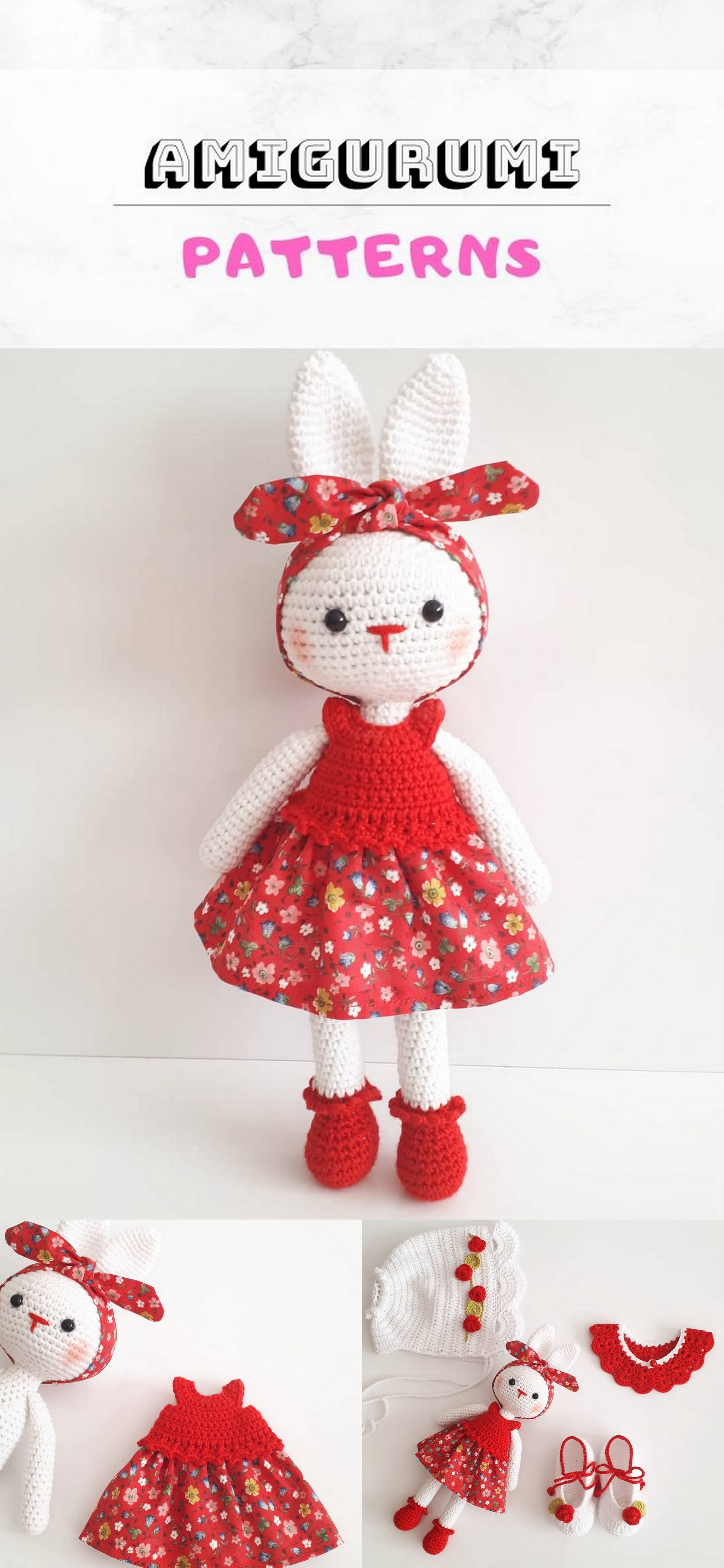 20+ Amigurumi Bunny Top Best Free Crochet Patterns