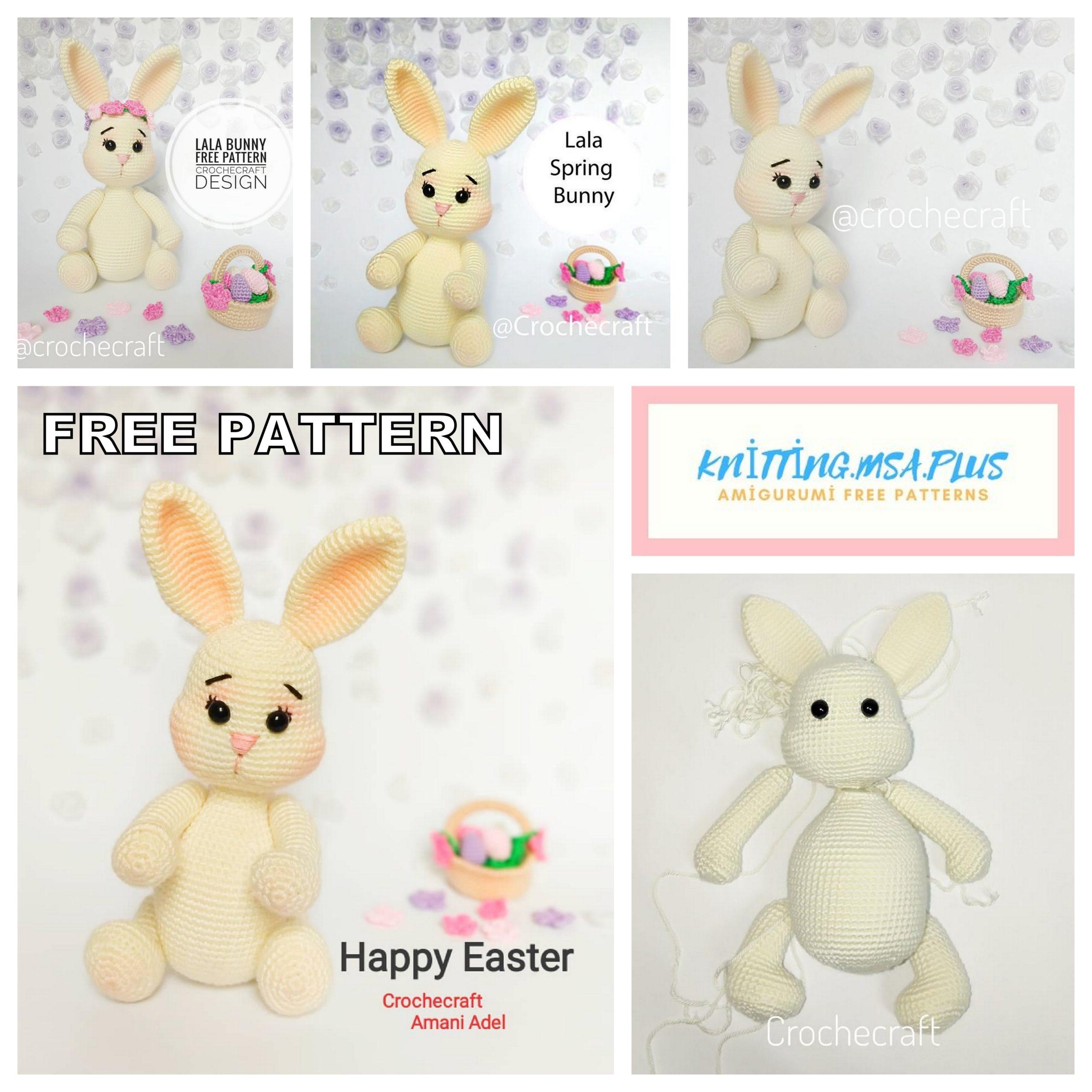 Spring Bunny & Bear Crochet Pattern Tiny Curl Amigurumi | Etsy | 2560x2560