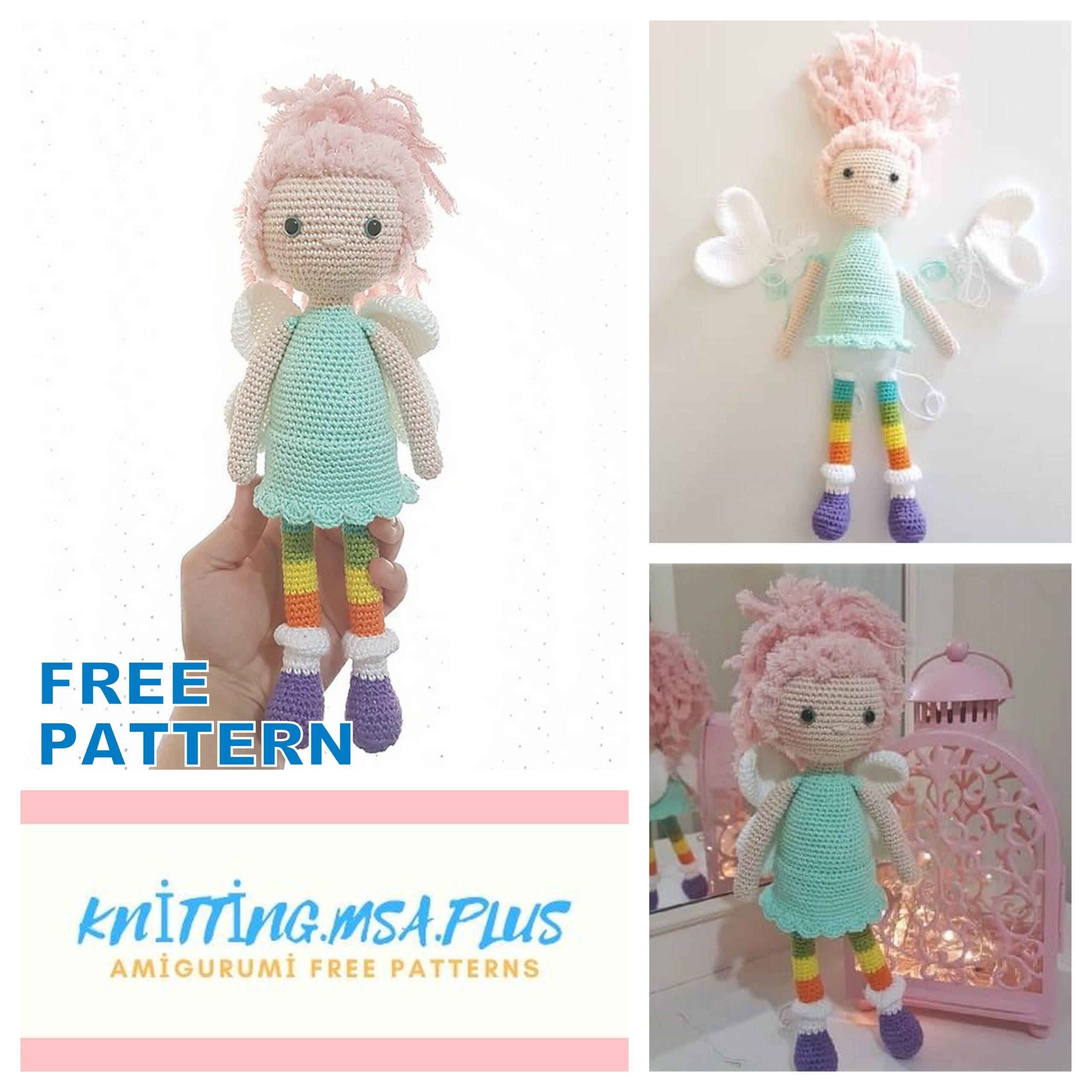 Amigurumi Bonbon Doll Free Crochet Pattern