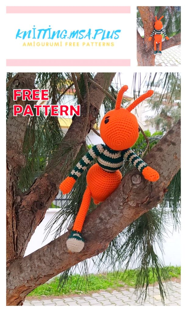 Amigurumi Cute Ant Free Crochet Pattern