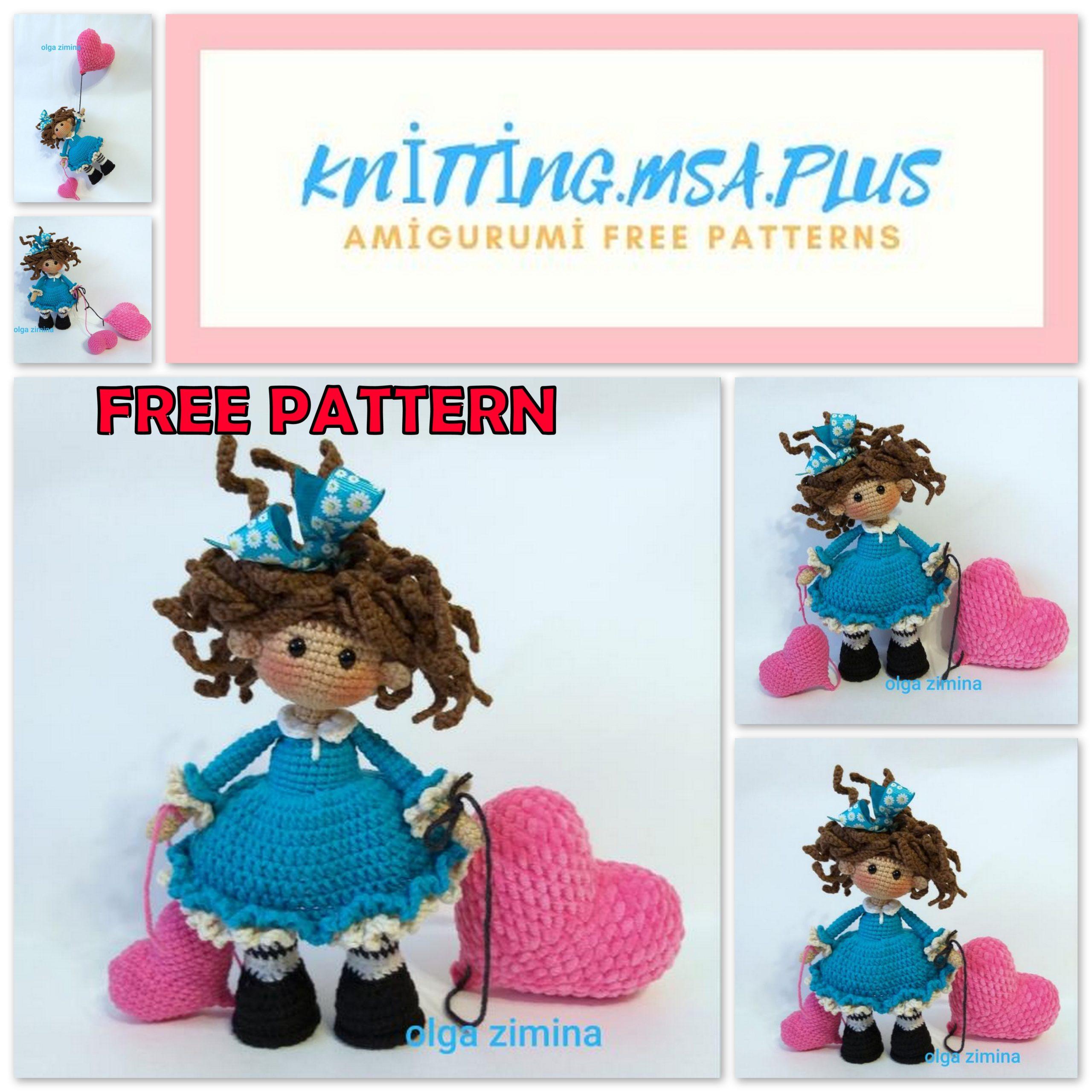 Amigurumi Valentine's Day Baby Free Crochet Pattern