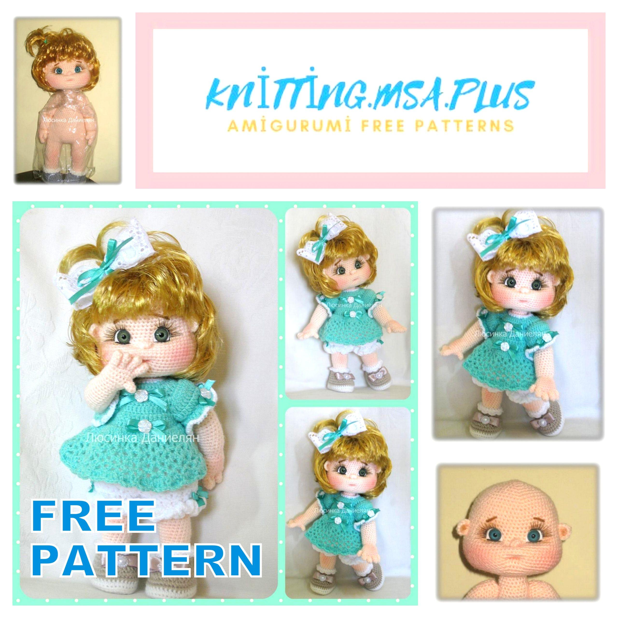 Amigurumi Fat Doll Free Crochet Pattern
