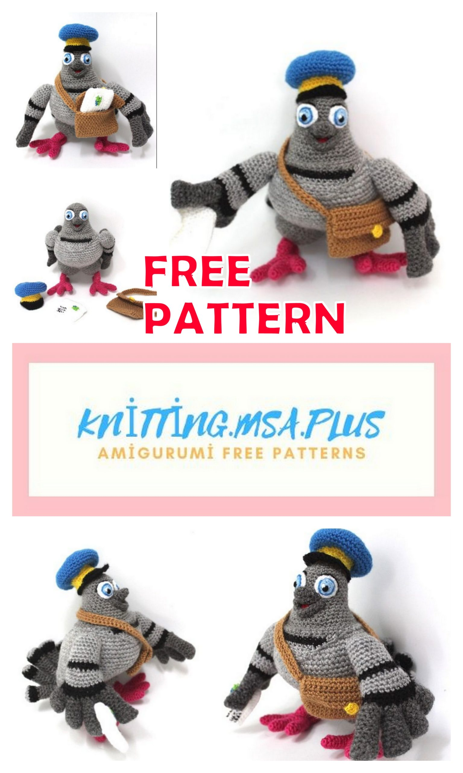 Pigeon crochet by AtinaP on DeviantArt | 2560x1536