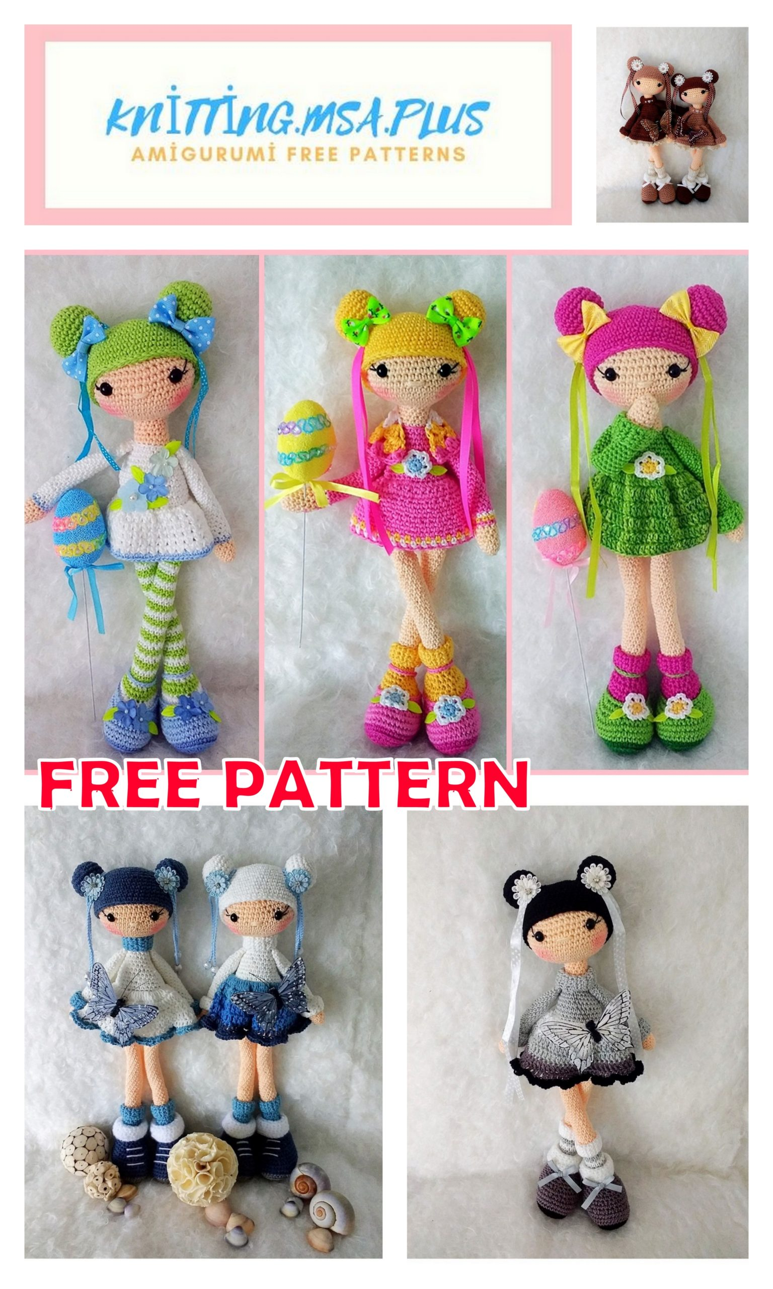 Amigurumi Doll Jack Free Crochet Pattern