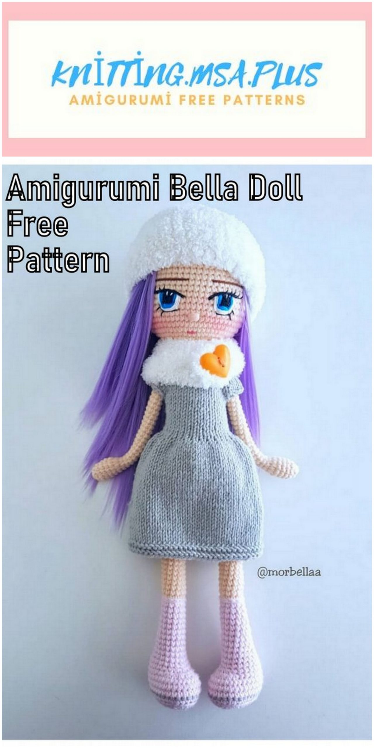 Amigurumi Doll Bella Free Crochet Pattern