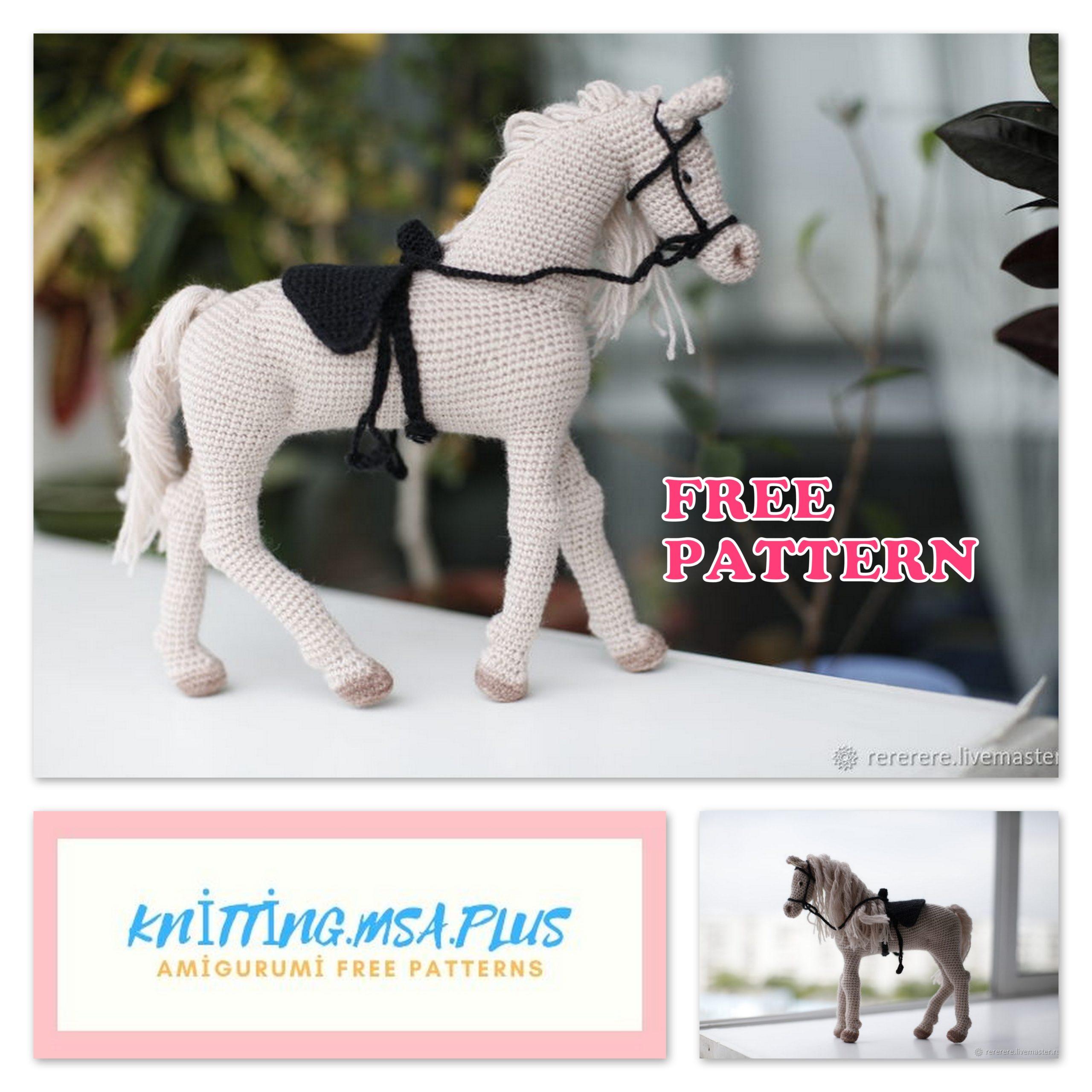 Amigurumi Horse Free Crochet Pattern