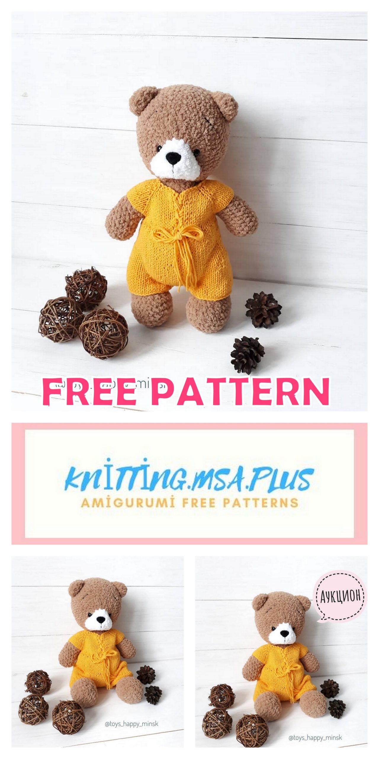 Fran's Crochet Place: Crochet Baby Teddy Bear Doll Toy   2560x1280