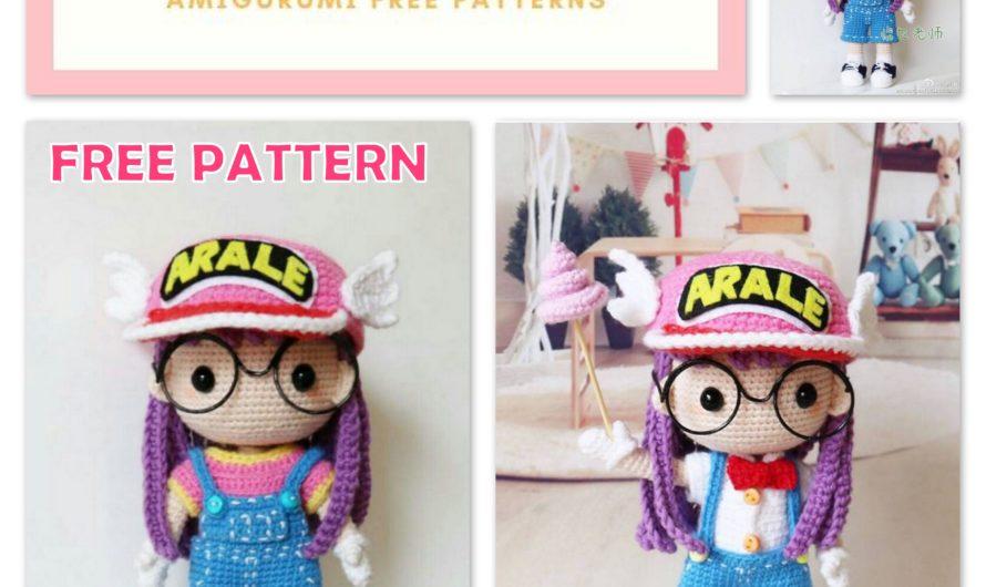 Amigurumi Arale Doll Free Crochet Pattern