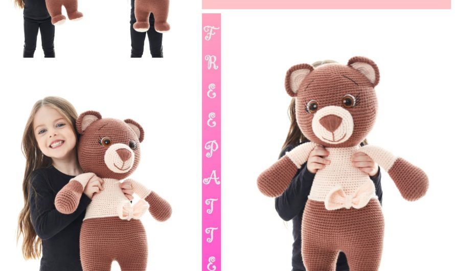 Amigurumi Big Bear Free Crochet Pattern