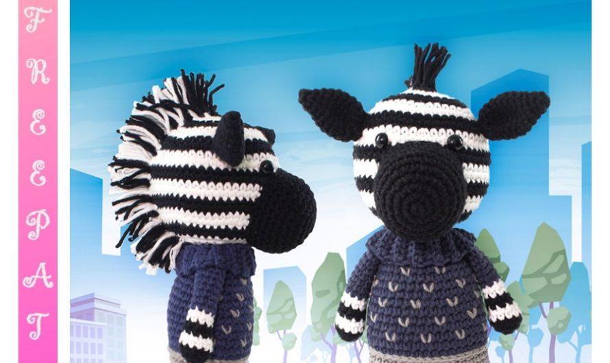 Amigurumi Cute Zebra Free Crochet Pattern